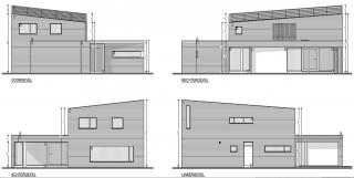 sobere, harmonieuze gevels architect Mol - architect Boonen