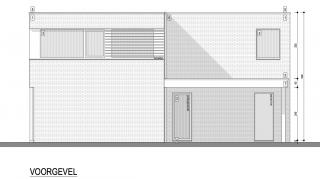 compacte woning goede energieprestatie architect geel -herman Boonen-