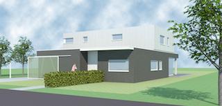 kubistische, strakke architect Lommel - architect Boonen Geel